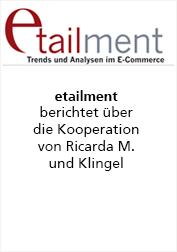 Ricarda M. Etailment Bericht zur Kooperation mit Klingel