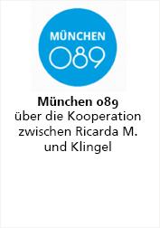 Ricarda M. München089 über die Kooperation mit Klingel