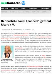 Ricarda M. bei Neunhandeln.de