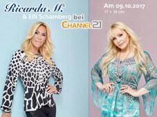 Ricarda M. präsentiert Mode und Schmuck bei Channel21