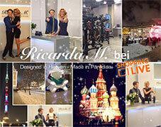 Ricarda M. erster Auftritt Shopping Live in Russland