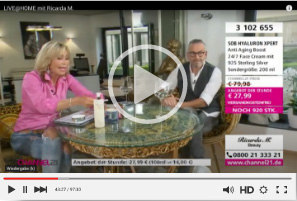 Ricarda M. Channel 21 Sendung aus dem Büro