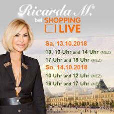 Ricarda M. bei Shopping live