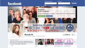 Ricarda M. 2.000 Facebook-Fan